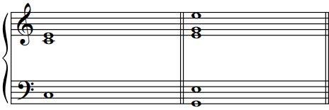 Accords de deux sons