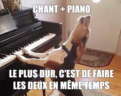 Chant + piano
