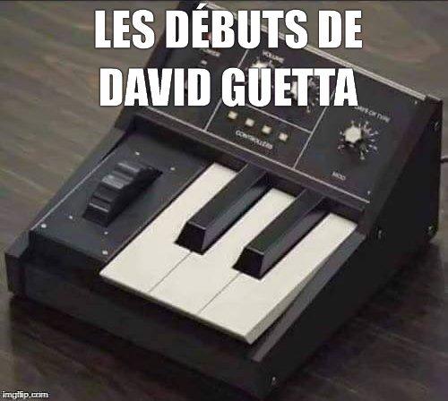 Les débuts de David Guetta