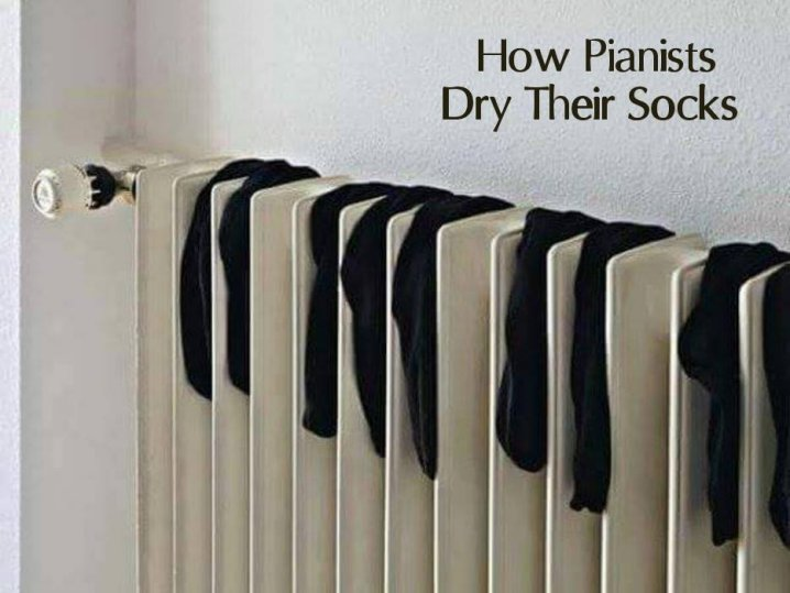 Chaussettes des pianistes