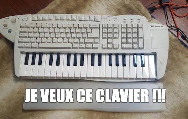 Je veux ce clavier !