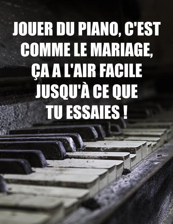 Piano mariage
