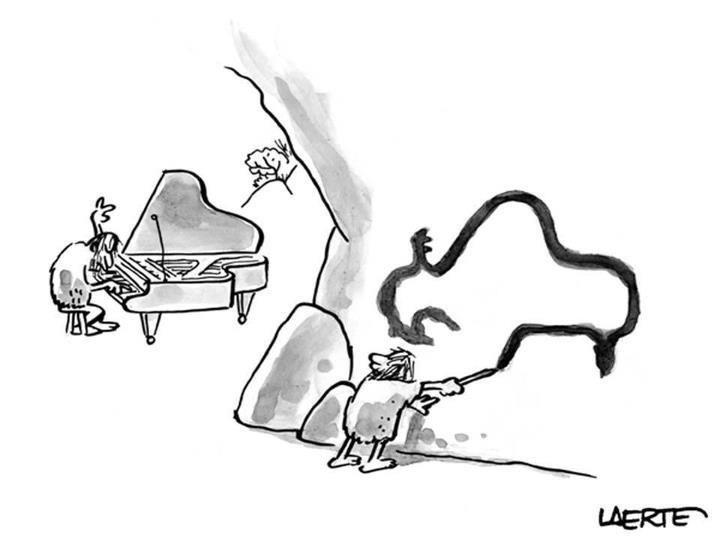 Pianiste de Neandertal