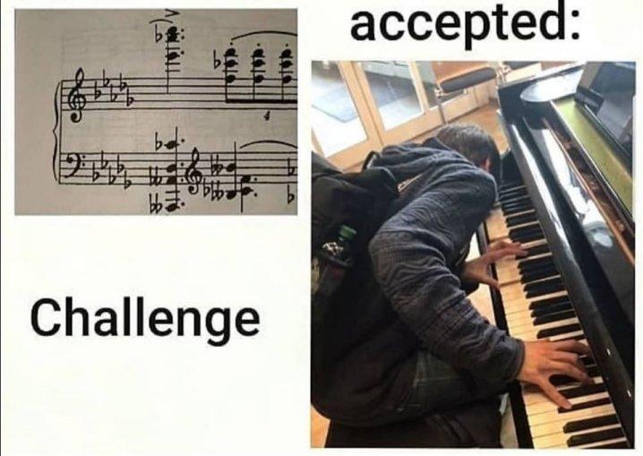 Accord. Challenge accepté !