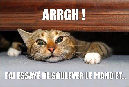 Soulever le piano
