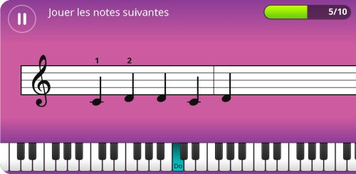 Apparence de Simply Piano2