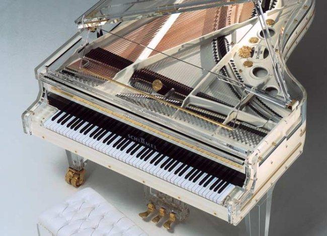 Piano de verre Shimmel CC 213g