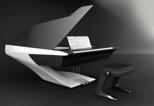 Piano Pleyel / Peugeot design lab