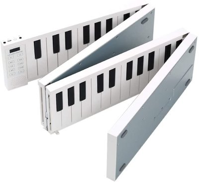 Piano pliable rigide