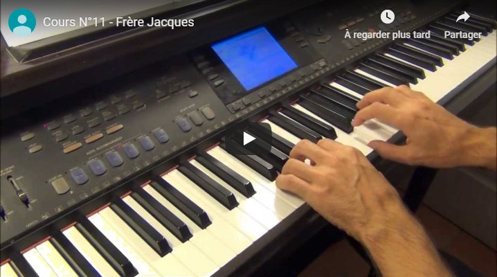 Vidéo de la leçon 11