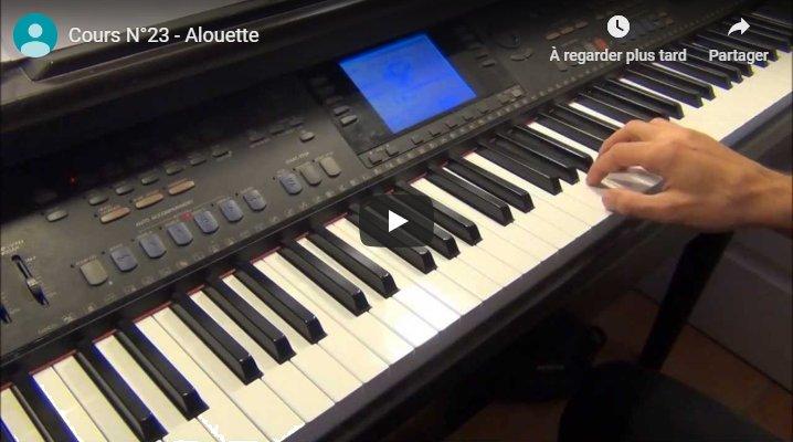 Vidéo de la leçon 23