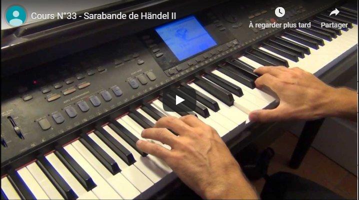 Vidéo de la leçon 33