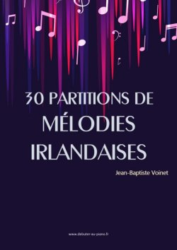30 mélodies irlandaises, partitions