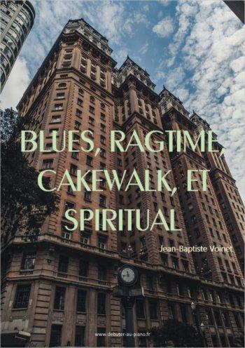 30 partitions pour piano de blues, cakewalk, ragtime, recueil