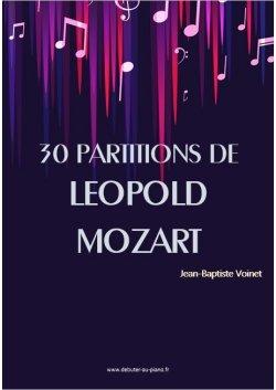 30 partitions de Leopold Mozart