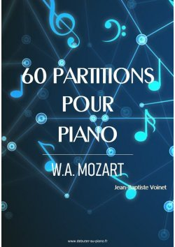 60 partitions pour piano de Mozart