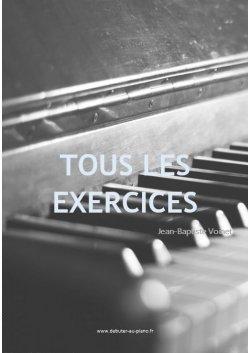 Première année, tous les exercices de piano