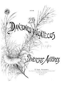 Vingt-quatre danses mexicaines - Anonyme