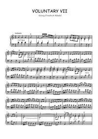 Voluntary VII - Georg Friedrich Händel