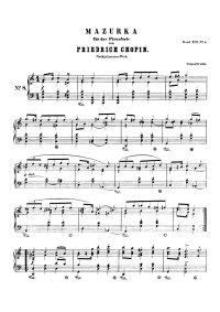 Mazurka - Frederic Chopin