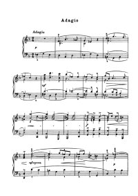 Adagio en solm - Arcangelo Corelli