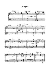 Allegro en ré - Arcangelo Corelli