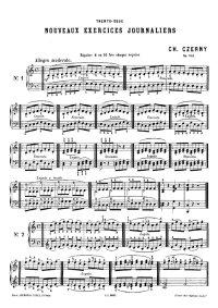 Trente-deux nouveaux exercices journaliers - Carl Czerny
