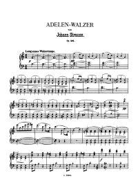 Adelen waltzer - Johann Strauss