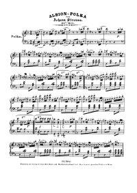 Albion polka - Johann Strauss