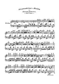 Alexandrine polka - Johann Strauss