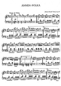 Annen polka - Johann Strauss