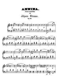 Annina polka - Johann Strauss