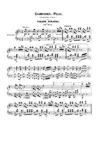 Champagner polka - Johann Strauss