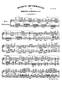 Début quadrille - Johann Strauss