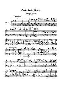 Gartenlaube waltzer - Johann Strauss