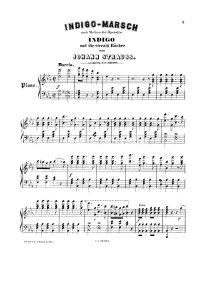 Indigo marsch - Johann Strauss