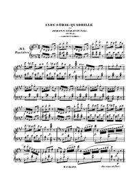 Industrie Quadrille - Johann Strauss