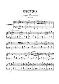 Invitation à la polka mazur - Johann Strauss