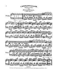 L'enfantillage - Johann Strauss