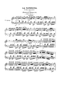 La favorite - Johann Strauss