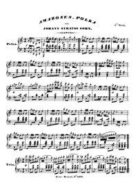 La polka des Amazones - Johann Strauss