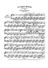 Le beau monde - Johann Strauss