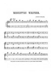 Manhattan waltzes - Johann Strauss