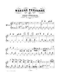 Marche persane - Johann Strauss