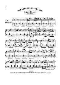 Nordstern quadrille - Johann Strauss