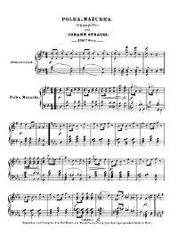 Polka mazurka champêtre - Johann Strauss
