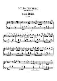 Soldatenspiel - Johann Strauss