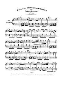 Spectacle de carnaval - Johann Strauss
