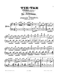 Tik tak polka - Johann Strauss