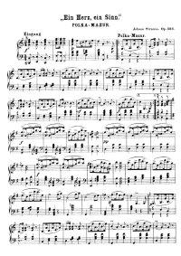 Un cœur, un sens - Johann Strauss
